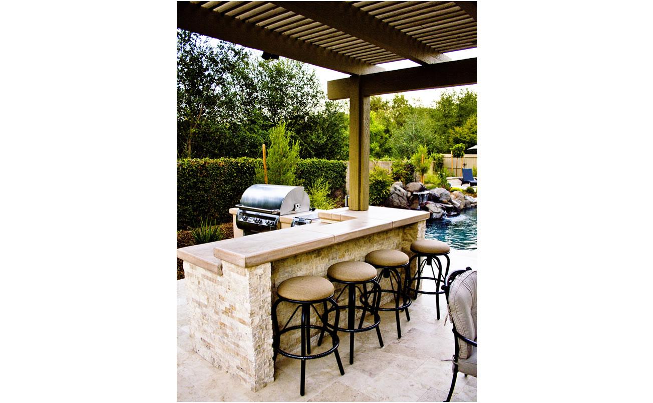 Outdoor living spaces gallery of sacramento california for Luxury outdoor living spaces