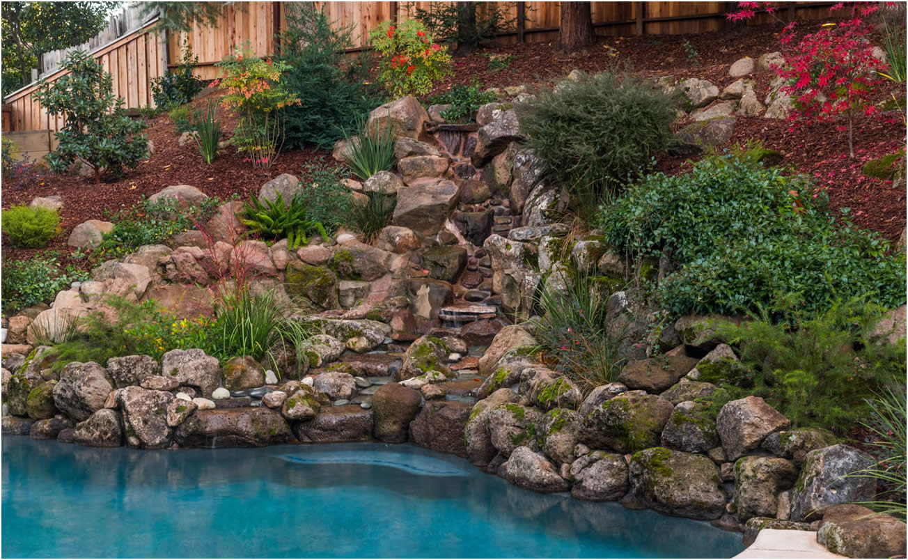 Water Features Gallery of Sacramento California Swimming Pool ...